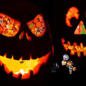 Treat or Trick kit for Halloween fun!