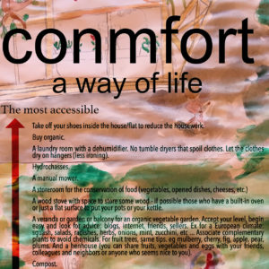 The eco comfort, a way of life