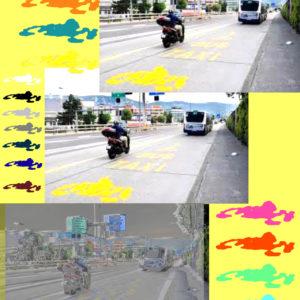 Piste scooter / Moto