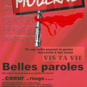 Le chiffon rouge Moderne