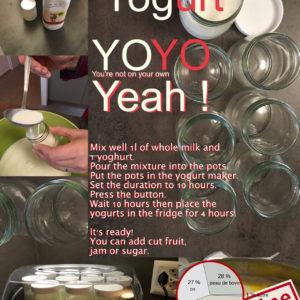 Ay Yo Yogurt YOYO Yeah!