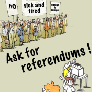 Fed up with strikes? Ask for referendums!