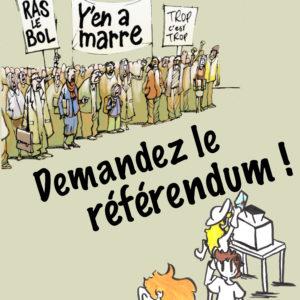 Marre de la grève? Demandez le référendum!