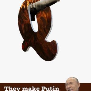They make Putin laugh